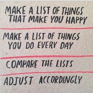 happy list